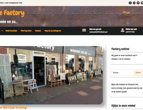 Nieuwe website 3z Factory